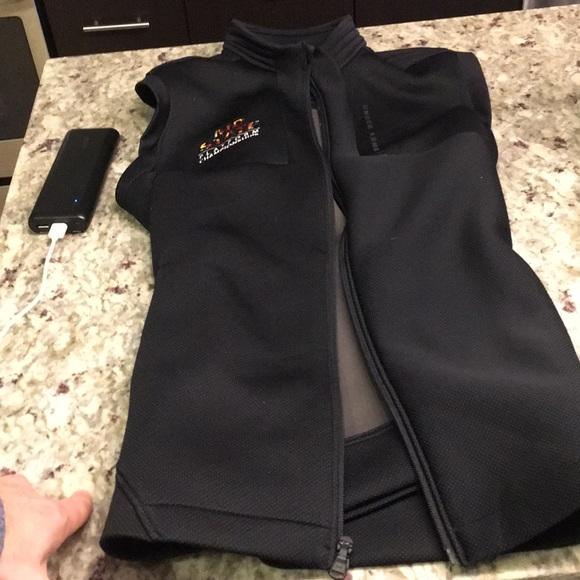 WOMENS UNDER ARMOUR PRIMALOFT STORM Vest Jacket size L LARGE PINK NWT